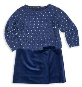 Florence Eiseman Little Girl's Dotted Sweater Dress