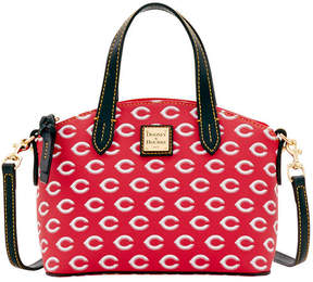 Dooney & Bourke Cincinnati Reds Ruby Mini Crossbody Satchel - RED/BLACK - STYLE