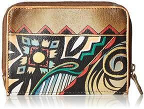 Anuschka Genuine Leather | Zip Around Credit Card Case |