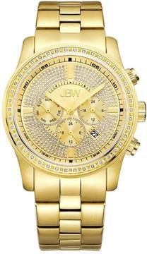 JBW Vanquish Multi-Function Gold Diamond Dial Men's Watch