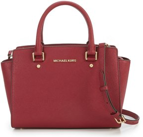 MICHAEL Michael Kors Selma Medium Convertible Satchel - MULBERRY - STYLE