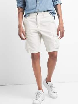 Gap 12 Cargo Shorts in Linen-Cotton