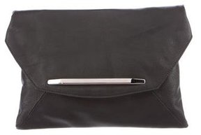 Narciso Rodriguez Leather Romy Clutch