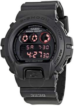 Casio G-Shock G-Force Black Dial Black Resin Strap Men's Watch DW6900MS-1