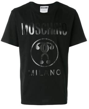 Moschino Men's Black Cotton T-shirt.