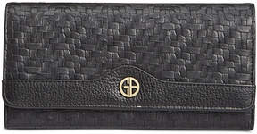 Giani Bernini Softy Weave Receipt Wallet, Created for Macy's