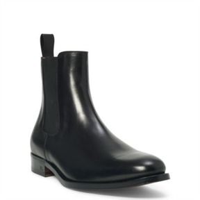 Ralph Lauren Belgrade Chelsea Boot Black 9 D
