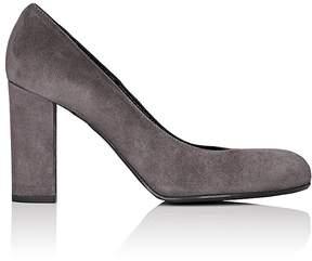 Barneys New York Women's Chunky-Heel Suede Pumps