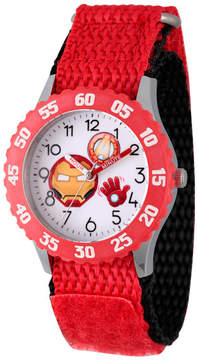 Marvel Emoji Boys Red Strap Watch-Wma000090