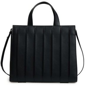 Max Mara Large Whitney Leather Tote - Black