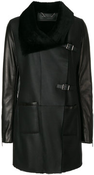 Barbara Bui oversized collar coat