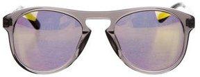 Westward Leaning Westward\\Leaning Translucent Mirrored Lens Sunglasses