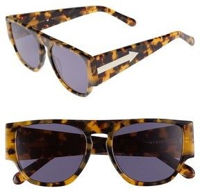 Karen Walker Women's X Monumental Buzz 54Mm Polarized Sunglasses - Crazy Tortoise