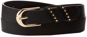 Charlotte Russe Plus Size Studded Faux Leather Belt