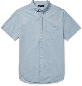 Alex Mill Shore Slim-Fit Button-Down Collar Cotton-Chambray Shirt