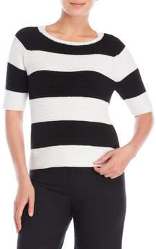 Altea Striped Waffle Knit Sweater
