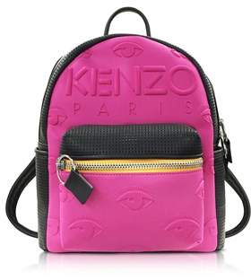 Kenzo Women's Fuchsia Other Materials Backpack.