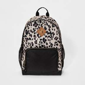 Mossimo Women's Leopard Print Backpack Black