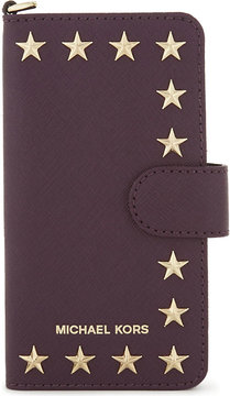MICHAEL Michael Kors Star leather iPhone 7 case