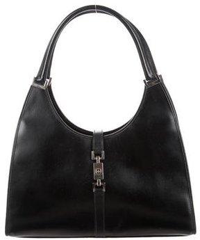 Gucci Large Bardot Bag - BLACK - STYLE