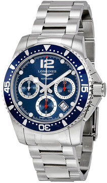 Longines HydroConquest Automatic Chronograph Blue Dial Stainless Steel Watch