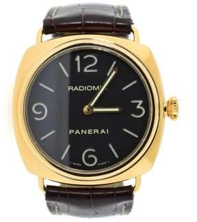 Panerai Radiomir PAM321 18K Rose Gold & Leather Manual 45mm Mens Watch