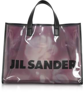 Jil Sander See through Medium Knitted Vinyl Tote bag