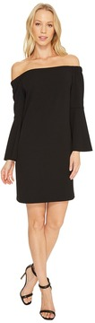 CeCe Hadley Bell Sleeve Off Shoulder Women's Dress