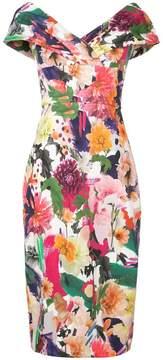 Cushnie et Ochs floral print dress
