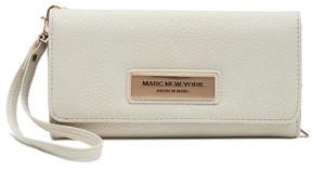 Andrew Marc Ludlow Foldover Wallet Metallic