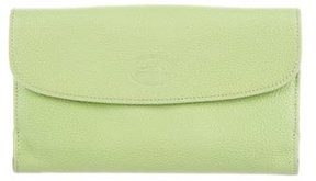 Longchamp Pebbled Leather Wallet