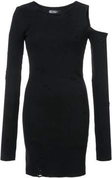 Amiri distressed sweater dress