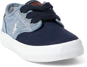Ralph Lauren Luwes Chambray Sneaker