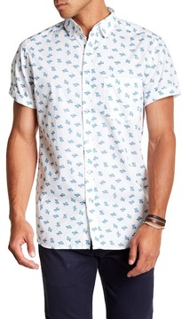 Sovereign Code Archibald Printed Button Down Shirt