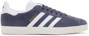 adidas Blue Suede Gazelle OG Sneakers