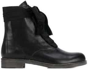 Chloé Black Harper Flat Boots