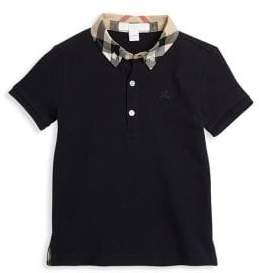 Burberry Baby's & Toddler Boy's Mini William Check-Collar Polo
