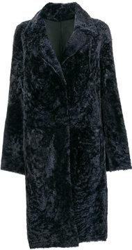 Drome reversible bicolour coat