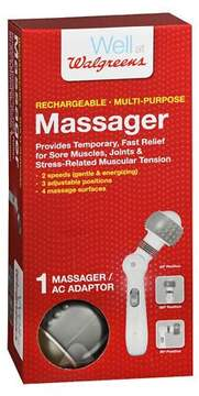 Walgreens Rechargeable Multi-Purpose Massager