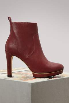Repetto Gwenole boots with heels