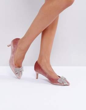 Asos SUZETTE Embellished Kitten Heels