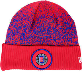 New Era Los Angeles Clippers On Court Collection Cuff Knit Hat