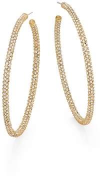 Adriana Orsini Women's Pavé Hoop Earrings/2.25