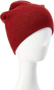 Portolano Men's Red Reversible Merino Wool Hat