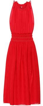 Altuzarra Sleeveless linen and cotton dress