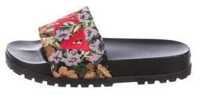 Gucci Pursuit Treck Slide Sandals