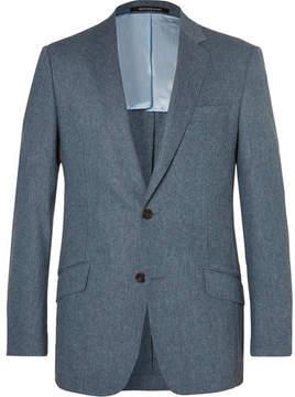 Richard James Seishin Slim-Fit Mélange Stretch-Wool Suit Jacket