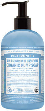 Dr. Bronner's 4-IN-1 Sugar Organic Pump Soap Unscented