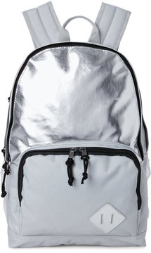 madden girl Grey & Silver Flash Backpack