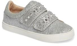 Vince Camuto Girl's Baylen Embellished Glitter Sneaker